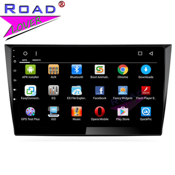 Roadlover Android 8.1 Car Head Unit Player Autoradio For VW Golf 2009 2010 2011 2012 2013 GPS Navigation Magnitol 2 Din NO DVD image