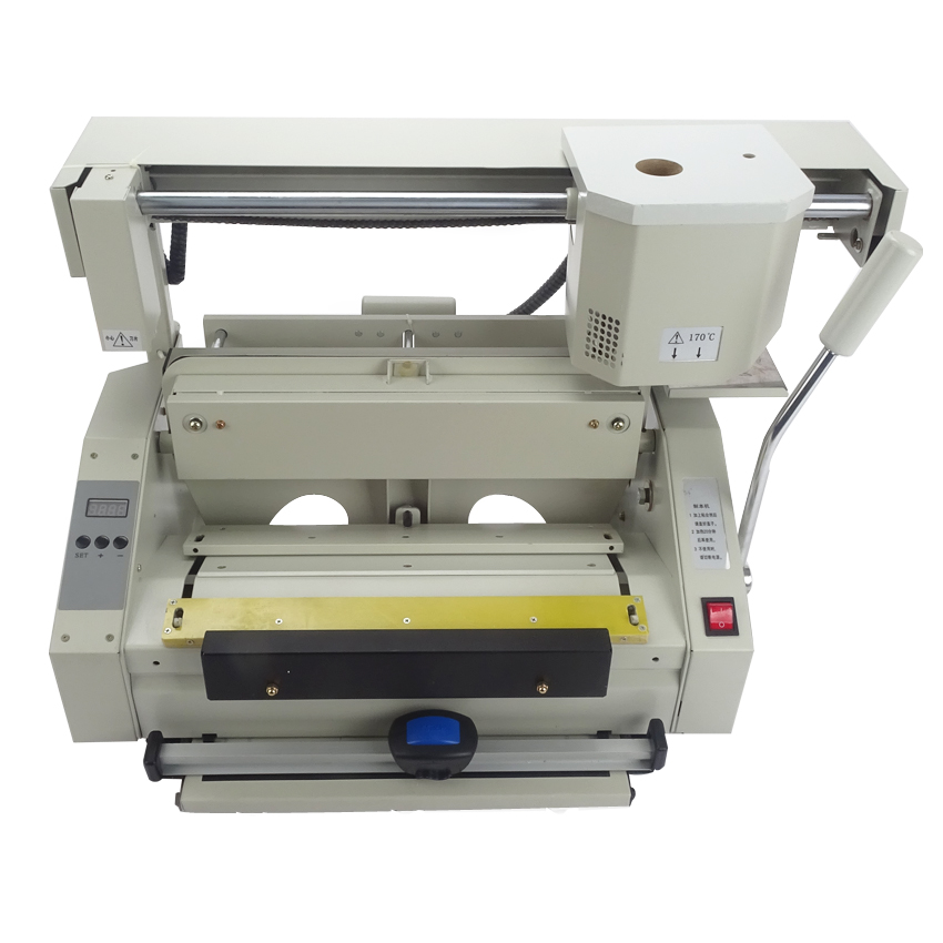 цена на RD-JB-5 Desktop glue book binding machine glue book binder machine hot melt glue binding machine booklet maker