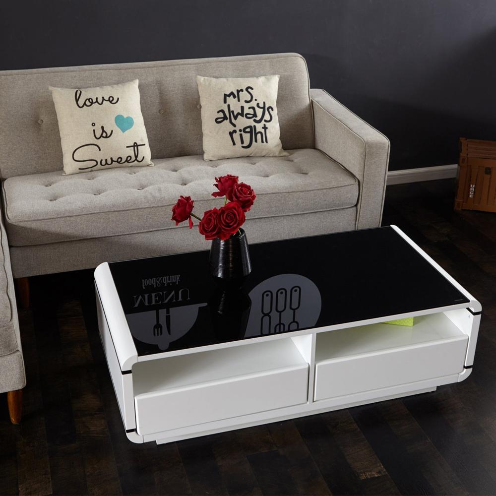 aingoo moderno soporte tv blanco y negro mesa de caf sala de estar mobiliario moderno soporte