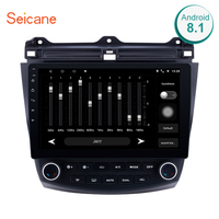 Seicane 10.1 Inch 2DIN Android 8.1/7.1 Touchscreen FM Radio GPS Navigation For 2003 2004 2007 Honda Accord 7 with Bluetooth
