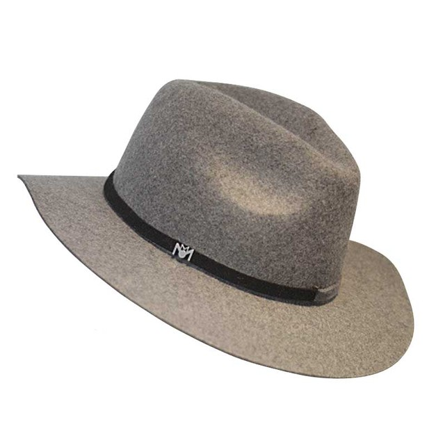 2016 Autumn Winter High Quality Trilby Bowler Hat For Women Men Wool Flat Wide Brim Cowboy Jewish Jazz Hats Fedora
