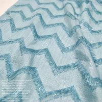 Jacquard Silver Wire Silk Dress Fabric