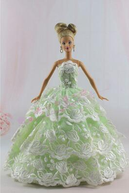 Genuine case clothes for barbie doll wedding dress Street Shirt Dress Up Childrens Day Gift Girl Birthday Gift New