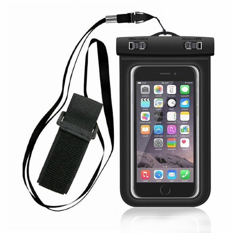 Mobile phone waterproof bag mobile case PVC outdoor sports swimming