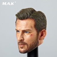 1/6 Scale Steve Rogers Male Head Wound Version Model Fit 12 Bodies