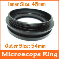Metal Inner Diameter 45mm Outer Size 54mm Stereo Microscope Parts Connector Ring For Connecting Ring Lamp