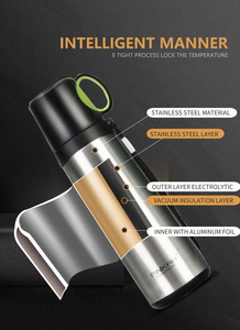 Image 5 - PINKAH Thermos Bottle 420ml 520ml Stainless Steel Vacuum Flask Travel Coffee Thermo Mug School Insulated Bottle Home Thermo Cup
