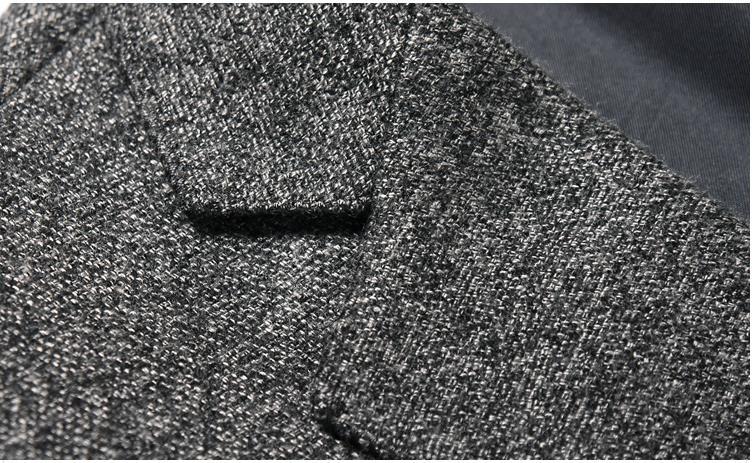Plus 6809 Automne Vestes Haute Casual Nouvelle Batmo 2018 Mâle Hommes Blazers Costumes Qualité taille Gris Arrivée UwTnqOg