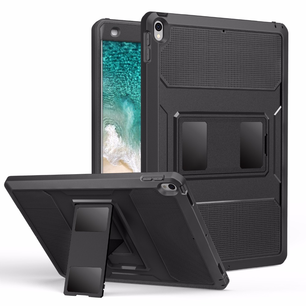 "MoKo Case For New iPad Air (3rd Generation) 10.5"" 2019/iPad Pro 10.5 2017  [Heavy Duty] Shockproof Full Body Rugged Hybrid Cover