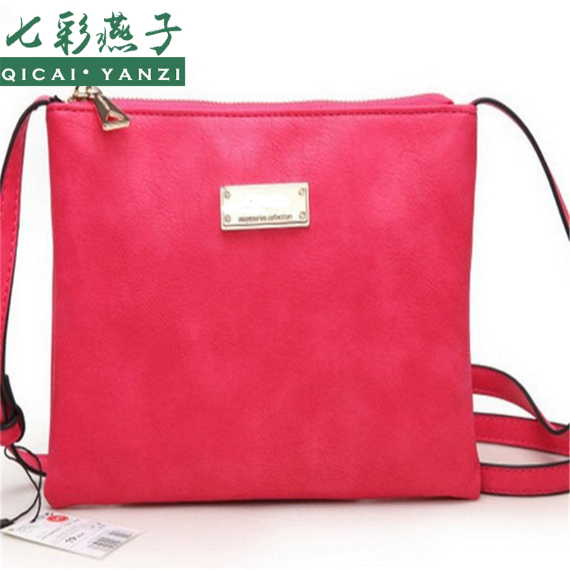 N756 2017 Top Quality Free Shipping Fashion Generous Women Handbag Shoulder Bags Satchel Tote Purse Frosted PU Leather Bag