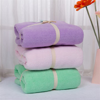 Coral Velvet Bath Towel For Adults Quick Dry Coral Velvet Microfiber Bathroom Towel Soft Microfibre Shower Face cloth 75*150cm