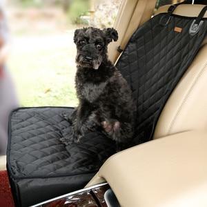 Image 4 - Doglemi ניילון עמיד למים כלב תיק נושאת מכונית כלב רכב בוסטרים מושב כיסוי נשיאת שקיות לכלבים קטנים חיצוני נסיעות ערסל