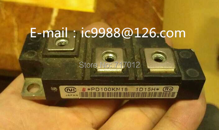 Free Shipping PD100KN16 SCR: 100A1600V no new(used/old) quality assurance,Can directly buy or contact the seller free shipping 2ri100e 080 new scr module 100a 800v can directly buy or contact the seller