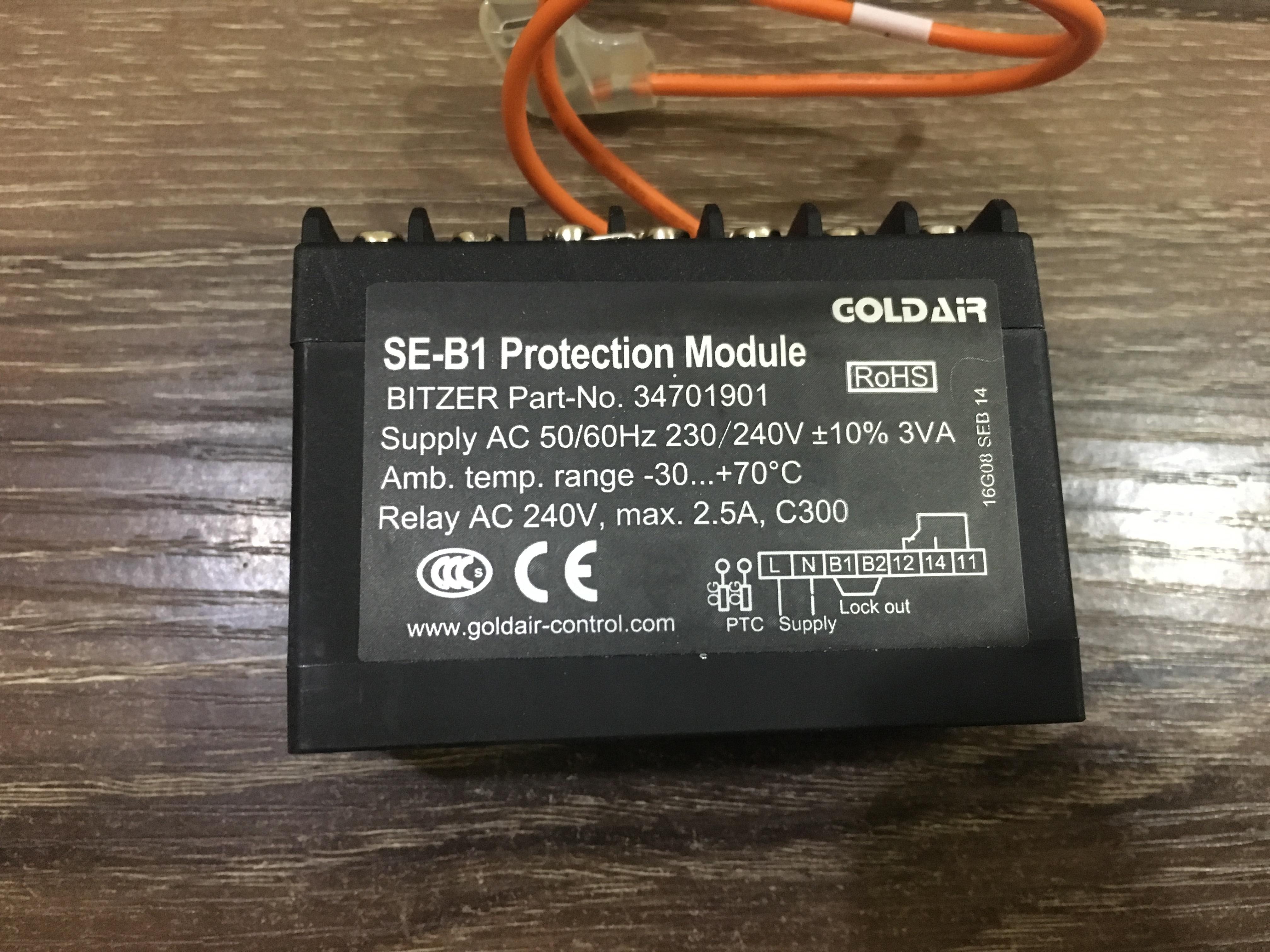 for BITZER Compressor Protector SE-B1 Motor Protection Module 34701901for BITZER Compressor Protector SE-B1 Motor Protection Module 34701901
