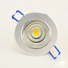 LED ceiling light 3W 5W 7W 10W 12W COB ceiling lights lamp Spot AC85V~265V for home illumination Free shipping