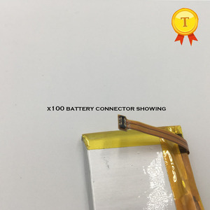 Image 2 - new Rechargeable watch Battery For SmartWatch phone watch x100 smart watch phonewatch saat clock hour 530mah capacity battery