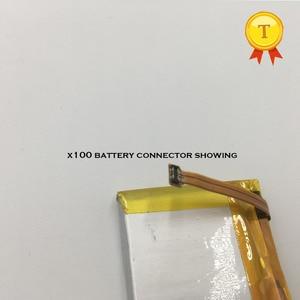 Image 2 - 新しい充電式時計電池のためのスマートウォッチ電話腕時計 x100 smart watch phonewatch saat 時計時間 530 mah 容量バッテリー