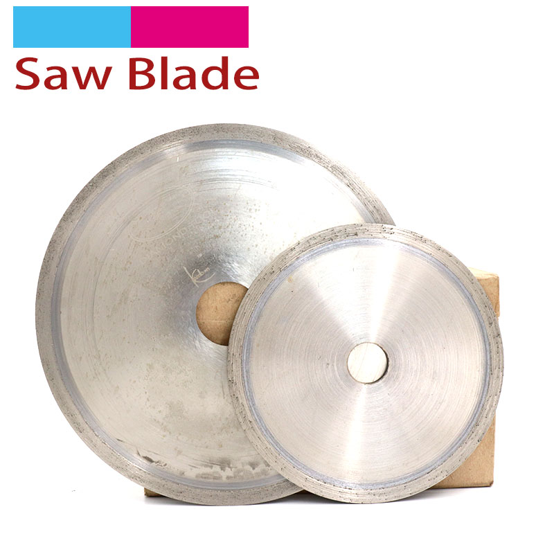 1pcs Diamond Circular Saw Blades Cutting Discs 4 To 20 Inch Diamond Cutting Tools For Jade Emerald Gemstone Crystal Agate Slice