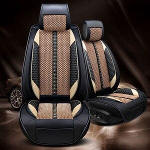Image 5 - Carro acreditar capa de assento do carro para toyota corolla chr auris desejo aygo prius avensis camry 40 50 acessórios capas para assento do veículo