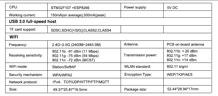 Geeetech 3D WiFi Module Box For 3D Printers 14