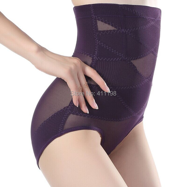 f0290bf465a 2014 new design Women High Waist Tummy Control Body Shaper ZS1011 Briefs  Slimming Pants Knickers Trimmer Tuck BLACK 4 COLOR S-XL