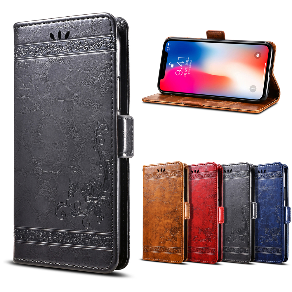 Vintage Wallet Leather Case for ASUS ZenFone Live (L1) ZA550KL Luxury Flip Coque Phone Bag Cover For ASUS ZA550KL Cases Fundas