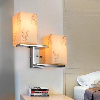 artistico in moderna lampada da parete a led luce con 2 luci per il bagno illuminazione