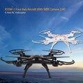 X5SW-1 6CH 2.4 Ghz de Control Remoto Rc Quadcopter Drone Headless Quadcopter FPV Aeroplano Con WIFI 0.3MP Cámara Toys Upgrade X5SW