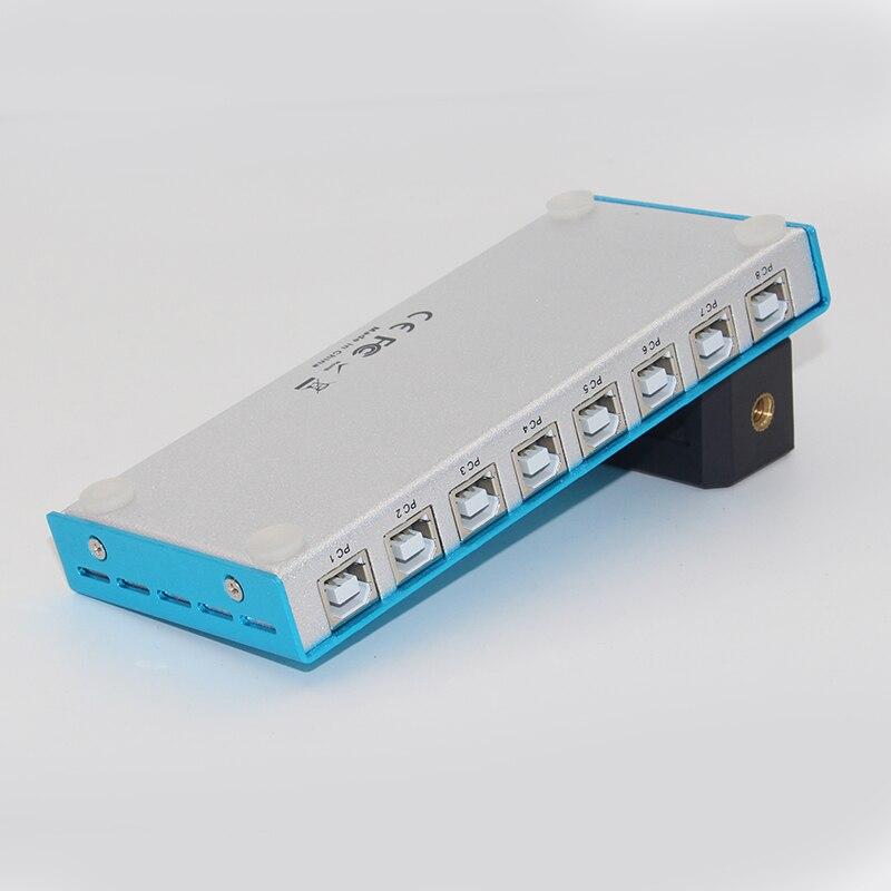 Contrôleur synchrone de souris de clavier d'usb de synchroniseur de 8 ports pour le contrôle Multiple de jeu de Pc - 5
