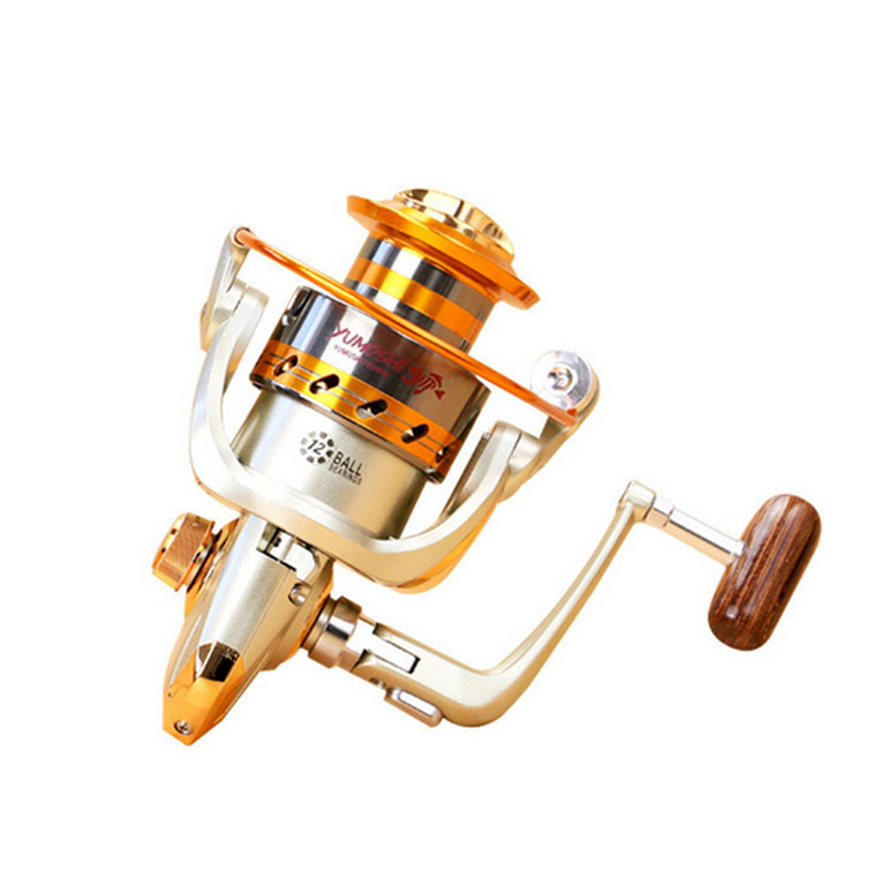 2019 New EF500 – 9000 Series Aluminum Fishing Reels 12BB Ball Bearings Type Reel Anti seawater corrosion roller fishing