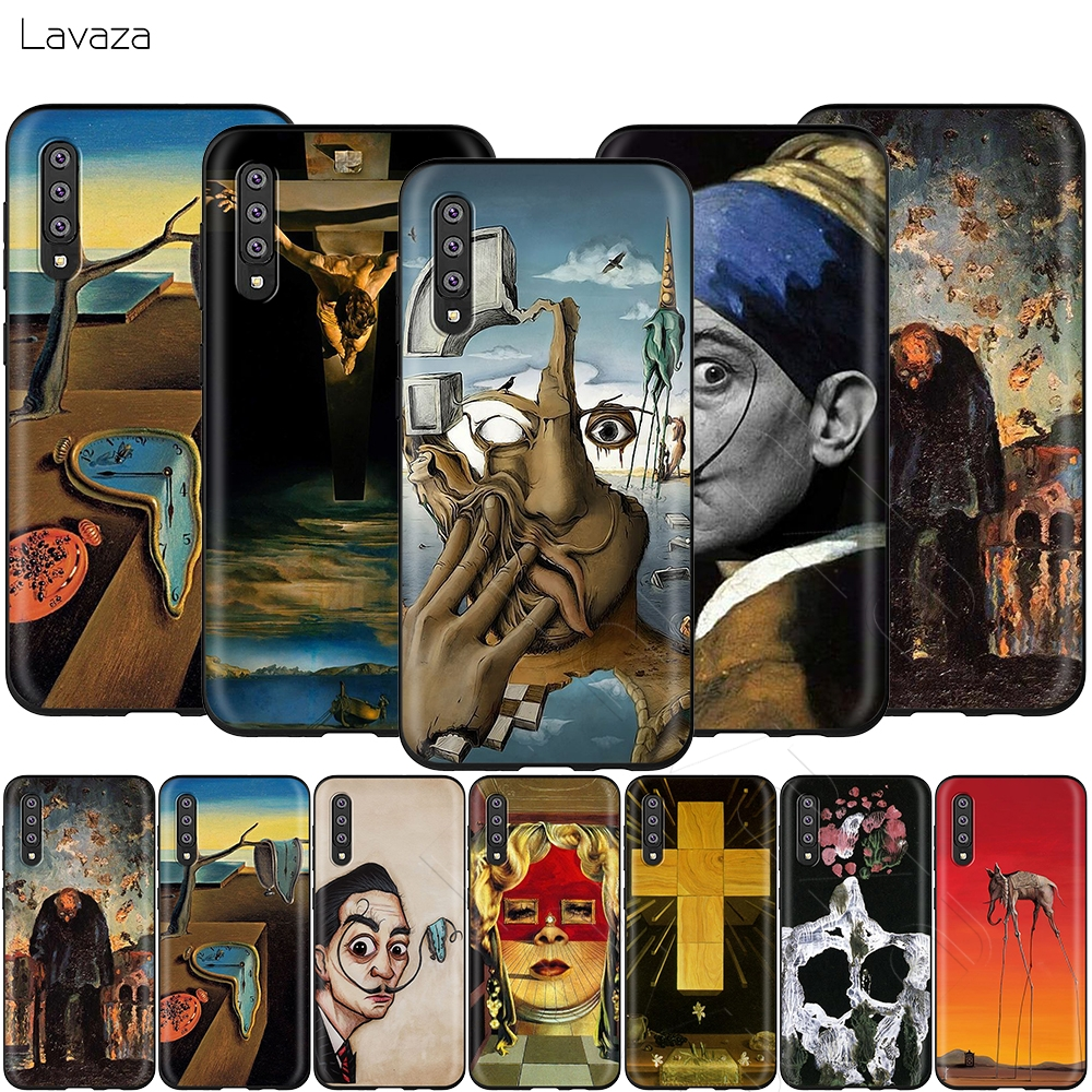 Lavaza Salvador Dali Art Painting Case for Samsung Galaxy Note 10 Plus A10 A30 A40 A50 A70 M20 A20 A20S A10S A30S A50S image