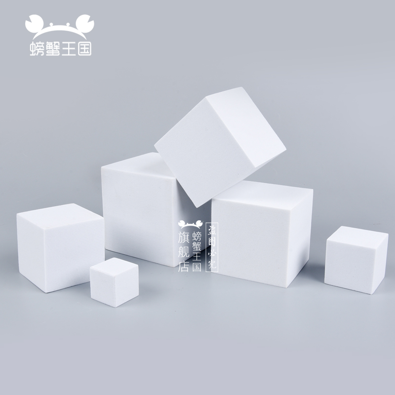 10pcs Model Making Material DIY Handmade EVA Foam Block Square Dollhouse Miniture Accessories