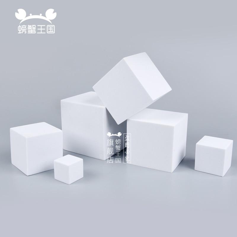 10pcs Model Making Material DIY Handmade EVA Foam Block Square Dollhouse Miniture Accessories
