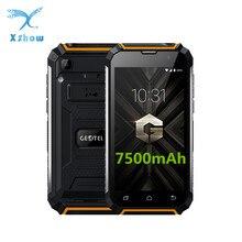 Orijinal Geotel G1 3G WCDMA Cep Telefonu 7500 mAh MT6580A 2 GB RAM 16 GB ROM Android 7.0 Dört çekirdek 5.0