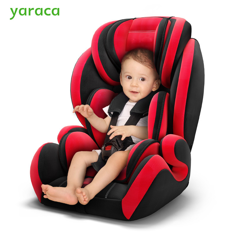 Baby Safty Car Seat Adjustable Car Seat For Kids With Five-point Seat Belt Autos Armchair For Children 9 Month To 12 Years Old hot sale hot sale car seat belts certificate of design patent seat belt for pregnant women care belly belt drive maternity saf