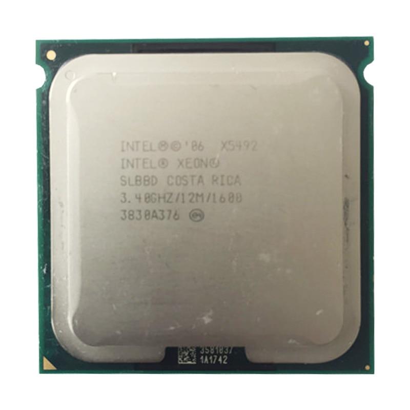INTEL X5492 CPU Processor /3.4GHz/12M/1600Mhz/ Quad- Core/ Server CPU X5492