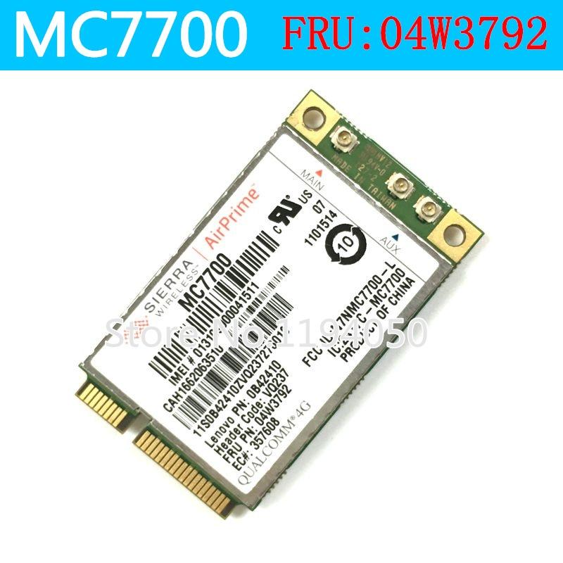 MC7700 Sierra Wireless GOBI4000 LTE 3G 4G Suit Japanese for thinkpa d T430 T430S X230 T530 FRU 04w3792 in stock stock 100