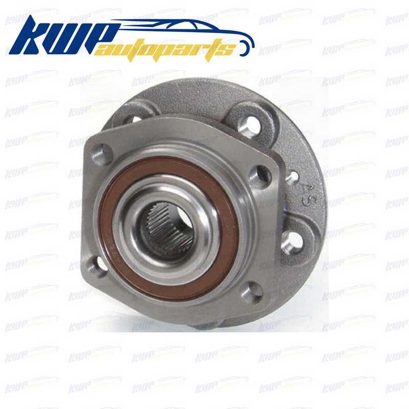 Front Wheel Hub & Bearing Assembly for 99-04 Volvo V70 C70 #513175 4pcs dac3063w 30x63x42 dac30630042 dac3063w 1 9036930044 574790 dac3063w 1cs44 hub rear wheel bearing auto bearing for toyota