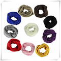Recién Diseño de Moda Cálida Mezcla de Lana de Punto Del Círculo Del Cuello Bufanda de Maíz Snood multiusos Bufandas May18