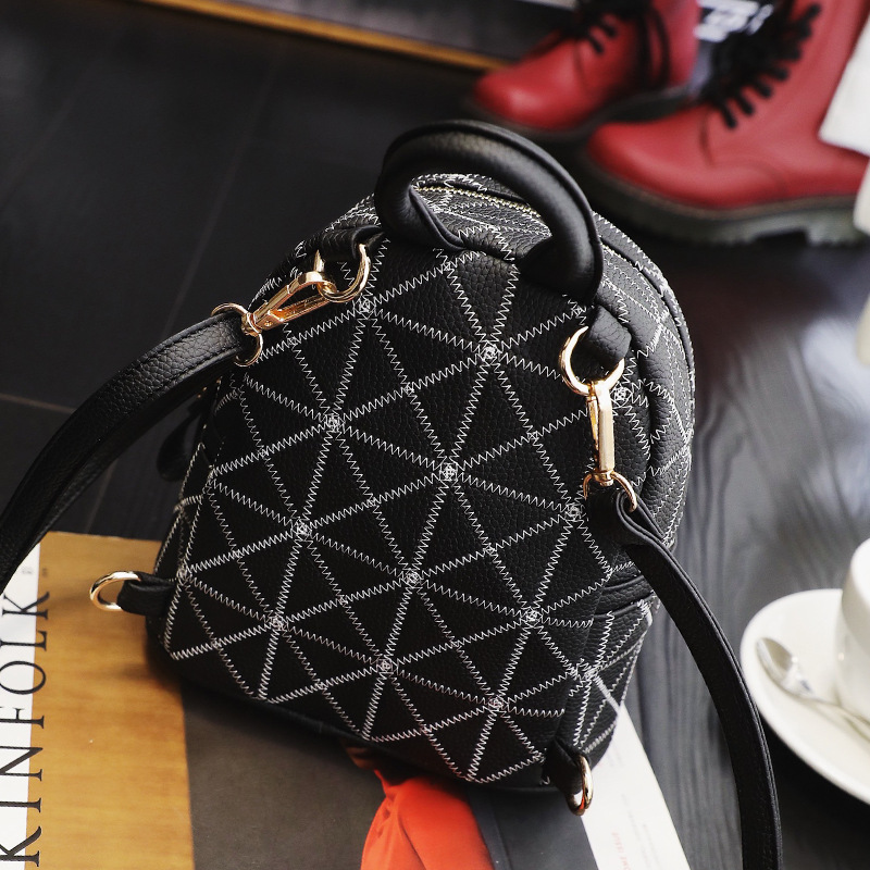 mochila mochila de couro bolsa Luggage Fashion : Backpack