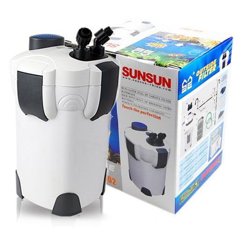 18W 1000L/h SUNSUN HW 302 3 Stage External Aquarium Canister Filter Fish Tank Outside Filter 264GPH
