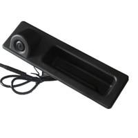 HD colorful car Rear view camera, handle camera for BMW 5 Series 11~15 , F10 F11 F25 F30, 3 Series 12 13 15, X3 / X4 / X5 12 15