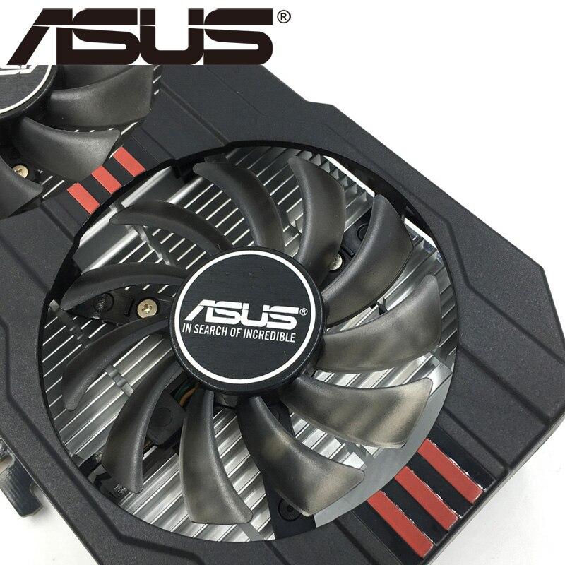 Видеокарта ASUS, GTX 750 Ti 2 Гб 128 бит GDDR5, графические карты для nVIDIA Geforce GTX 750Ti, б/у, VGA карты GTX750TI 1050, оригинал-3