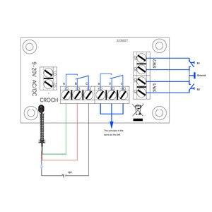 Image 5 - Diretoria De Distribuição De Energia conjunto 1 Distribuidor para a Tensão DC e AC NOVO modelo de trem escala ho ferroviária PCB009 modelagem