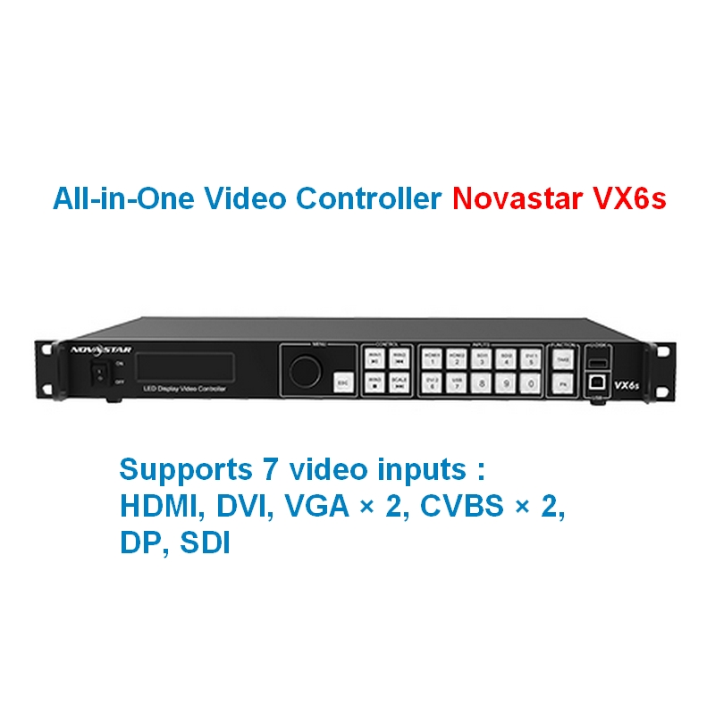 Hot Selling All-in-One Video Controller NOVASTAR  VX6s ,Use For Indoor Or Outdoor Led Display Screen NOVASTAR  VX6s