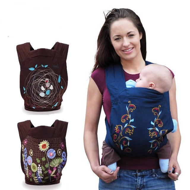 Minizone Fashion Pattern Design Baby Sling Ergonomic Baby Carrier For 0-3 Y Infant Last Style High Quality 4 Designs Baby Carrier