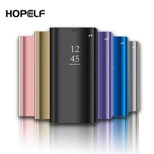 Image 1 - Spiegel Fall Für Samsung Galaxy S10 S8 S9 Plus S7 Rand A6 A8 J4 J6 Plus A7 J8 2018 M10 m20 A10 A20 A30 A40 A50 A60 A70 A80 Fall