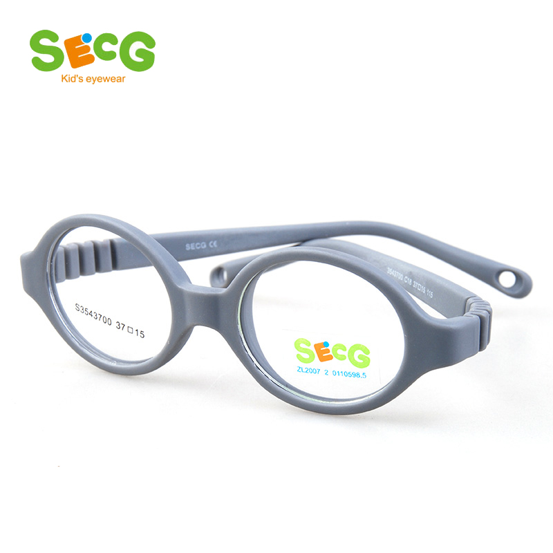 375f50a489 Top Brand Myopia Optical Children Glasses Frame Solid TR-90 Rubber Kids  Glasses Protective High