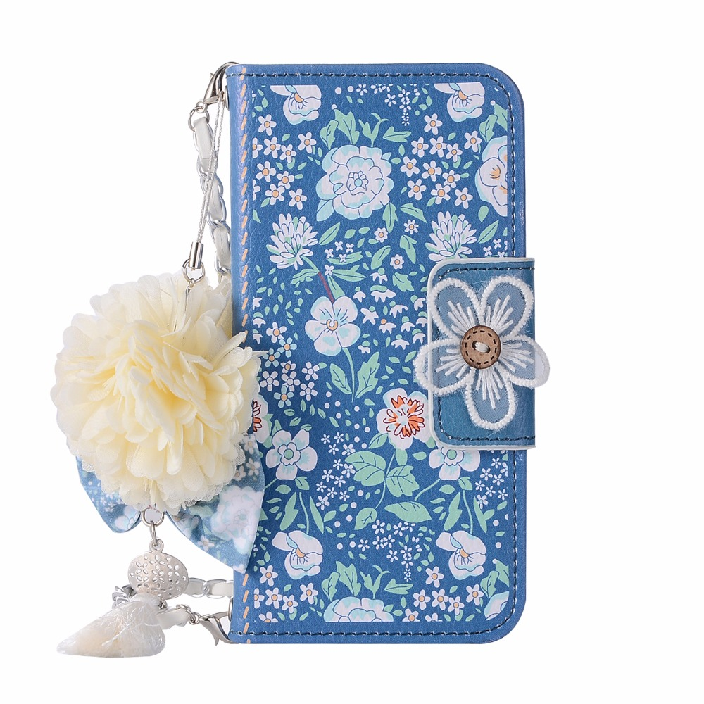 3D Flower Handbag Cover Leather Wallet iPhone 11 Pro Max