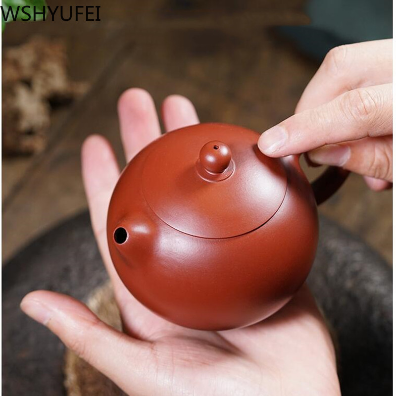 High quality teapot handmade 200ml from artist tea set accessories drinking utensils WSHYUFEI